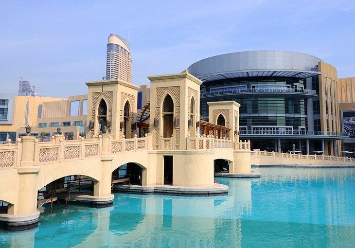 دبي مول اماكن سياحية في دبي